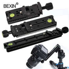 Slide Rail RRS long Quick Release plate Clamp Long-focus Zoom Lens Support Holder Bracket for Arca swiss Tripod camera ball head