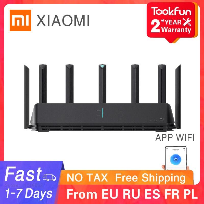 2021 Xiaomi AX3600 AIoT маршрутизатор Wifi 6 двухдиапазонный 2976Mbs гигабитная скорость безопасности шифрование сетка Wifi внешний усилитель сигнала