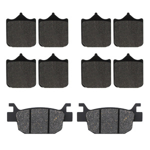 Motorcycle front and rear brake pads for Benelli TRK502 TRK502X TRK 502 Leoncino 500 BJ500 BJ500GS-A BJ 500(China)