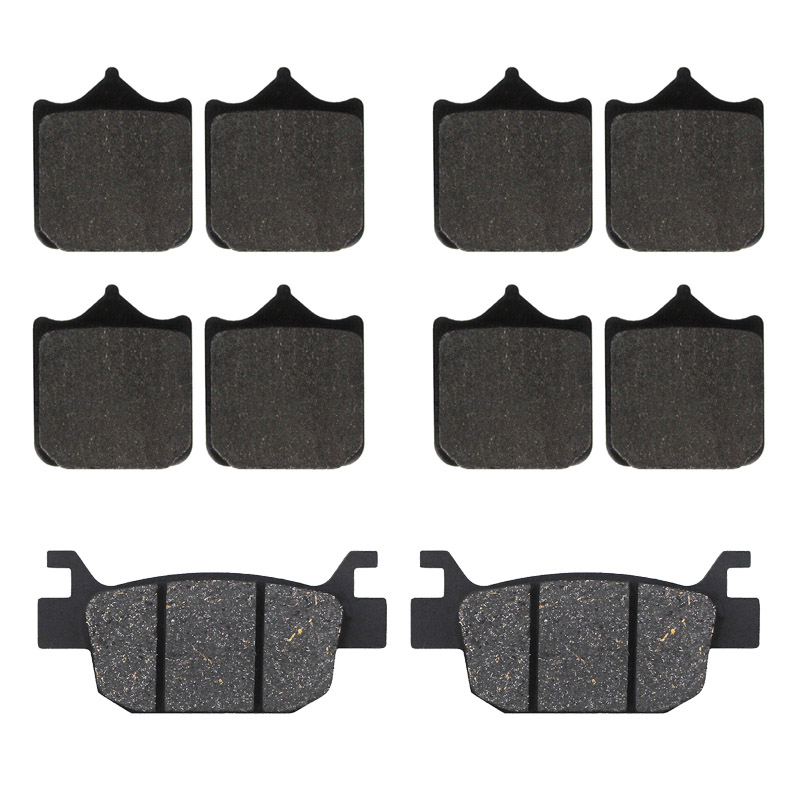 Motorcycle front and rear brake pads for <font><b>Benelli</b></font> TRK502 TRK502X TRK 502 Leoncino 500 BJ500 <font><b>BJ500GS</b></font>-A BJ 500 image