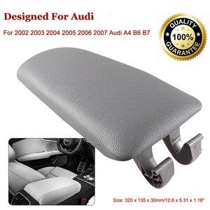 Auto Armlehne Latch Abdeckung Für Audi A4 B6 B7 2002-2007 Fahrzeug Center Konsole Arm Rest Lagerung Box Deckel abdeckung Auto Zubehör