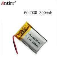 Qualidade dos bens da bateria do polímero do lítio íon de 602030 350 mah 3.7 v da autoridade de certificação do ce fcc rohs|Baterias digitais|   -