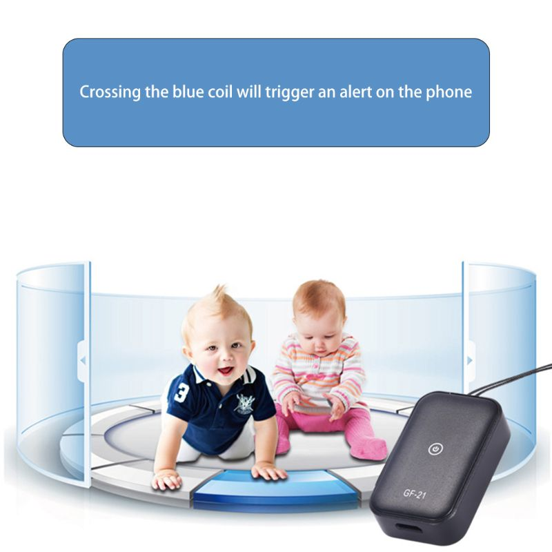 GF21 Mini GPS Real Time Car Tracker Anti-Lost Device Voice Control Recording Locator High-definition Microphone Positioning