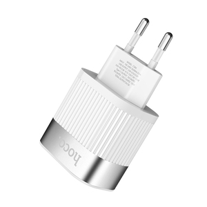 Image 4 - HOCO PD QC3.0 USB Schnelle Telefon Ladegerät 18W Quick Charge 3,0 EU UNS Stecker Wand USB Ladegerät Adapter Volle vereinbarung für iPhone Samsung