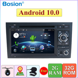 Quad Core 2 Din For Audi A4 B6 B7 S4 B7 B6 RS4 B7 SEAT Android 10.0 GPS Navi SWC Bluetooth Camera Canbus Support 4G,DAB,OBD,TV