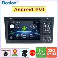 Quad Core 2 Din For Audi A4 B6 B7 S4 B7 B6 RS4 B7 SEAT Android 10.0 GPS Navi SWC Bluetooth Camera Canbus Support 4G,DAB,OBD,TV