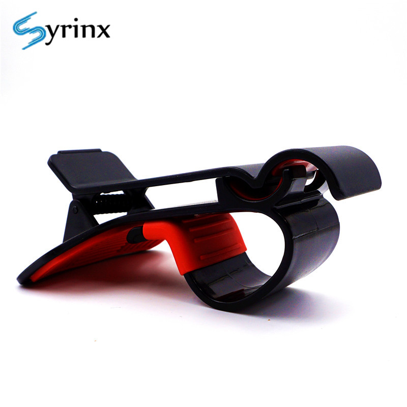 Syrinx Car Holder For Navigation Dashboard GPS Hud Design Universal Cell Phone Clip Smartphone Mount For Iphone Car Phone Holder