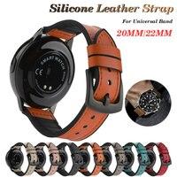 Cinturino in Silicone 20mm 22mm per Samsung Galaxy Watch 3 41mm 46mm per Huawei Watch Band GT2 Pro per Huawei Amazfit Bip