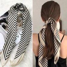 2020 Красивая Роскошная сумка с принтом шарф на ремешке женский