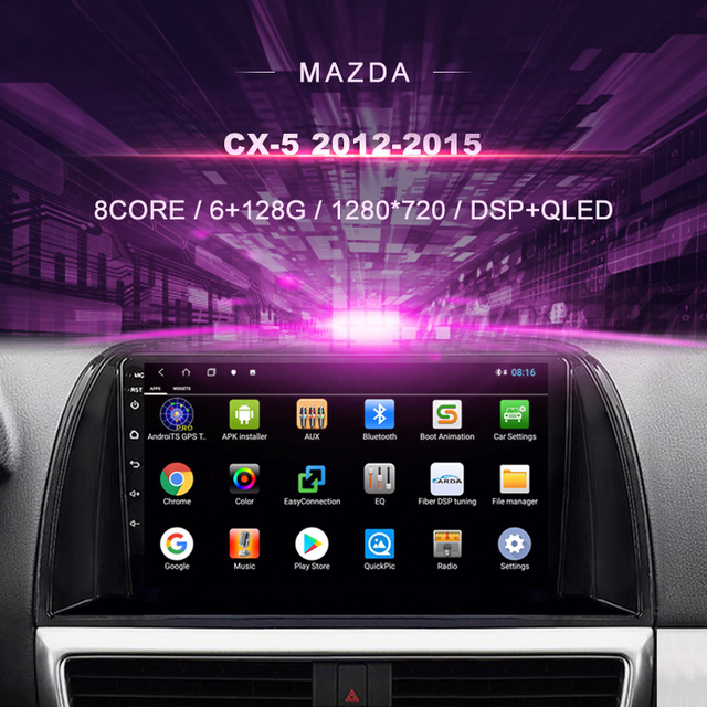 Car DVD For Mazda CX 5 ( 2012 2015) Car Radio Multimedia Video Player Navigation GPS Android 10.0 Double Din