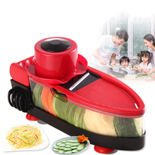 цена на Multi-functional Vegetable Grater Stainless Steel Cutter Kitchen Tool High-capacity Potato Peeler with Drain Hole for Kitchen