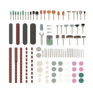 Image 4 - WORKPRO 276PC Dreh Werkzeug Zubehör für Dremel Mini Bohrer Set Schleif Werkzeuge Schleifen Schleifen Polieren Schneiden Tool Kits