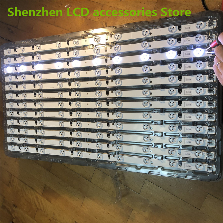 4Pieces/lot   LED BACKLIGHT SET FOR SAMSUNG UE32EH5000 TV 32F-3535LED-40EA FROM LTJ320HN07-V A   100%NEW  58CM    10LED