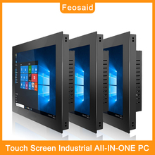 Feosaid 19 inch Capacitive touch industrial computer Standard cabinet win7 win10 Linux system for mini PC Resolution 1280x1024