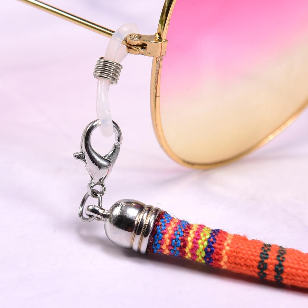 Fashion Ethnic Cord Chain on the Neck for Women Bohemian Hang Masks String Sunglasses Lanyard Men's Cuelga Mascarillas 65cm