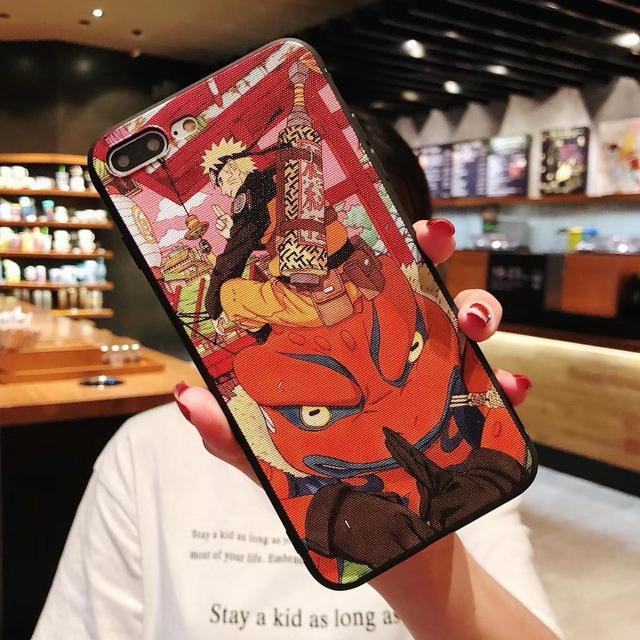 Case for iphone 11 pro max 6 6s 7 8 plus X phone cases Newest Japan Anime Naruto soft TPU for iphone XR XSMAX back cover Coque