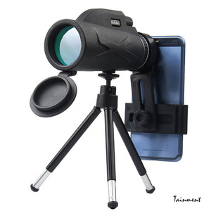 80 x 100 HD Telescope High Power Binocular Professional Military Night Vision Monocular Zoom Optic Spyglass Hunting Scope Newest
