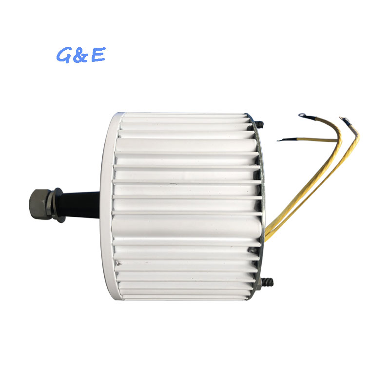 AC Synchronous Alaternative Energy Low RPM 800W 24V 48V PMG Permanent Magnet Generator