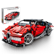 Technic MOC Back Force Super Racing car toy Bugatti Model Building Blocks Sets Bricks Educational Toys for Children Compatible lepin 23003 3643pcs technic moc rc jeep wild off road vehicles set educational building blocks brick toy for children model gift