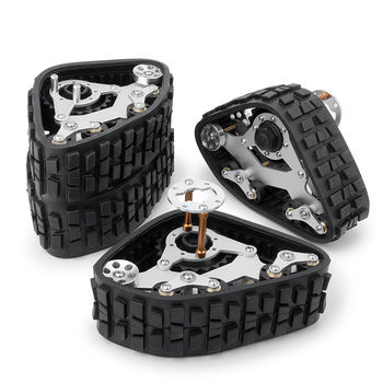 Tracks Wheel Sandmobile Conversion Snow Tire for 1/10 RC Traxxas Trx4 Upgrade Parts