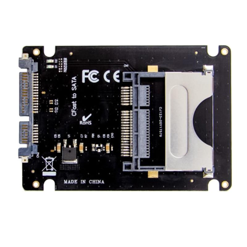 Cfast adaptador 2.5 Polegada disco rígido gabinete
