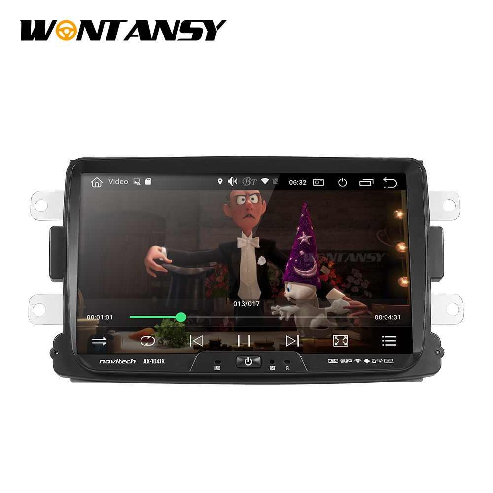 אנדרואיד 9.0 PX30 רכב dvd עבור Dacia Lodgy Logan Duster Sandero עם 1 din רדיו gps וידאו wifi ניווט מולטימדיה נגן