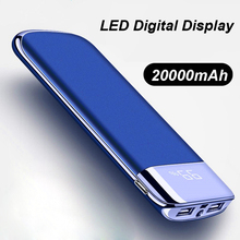 Power Bank 20000mAh Fast Charging Powerbank With Digital Dis