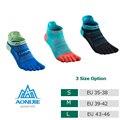Носки с пальцами для бега, футбола, баскетбола, йоги, 3 пары