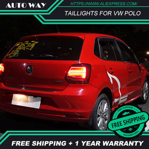 Image 5 - Auto Styling rückleuchten fall für VW Polo rückleuchten 2011 2017 Polo rücklicht LED Rücklicht polo rückleuchten hinten stamm lampe