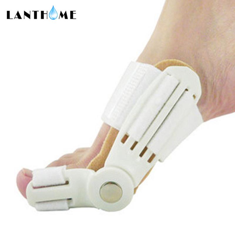 2Pcs Big Toe Separator Hallux Valgus Orthopedic Bone Finger Pedicure Corrector Splint Correction Bunion Thumb Foot Care Tool