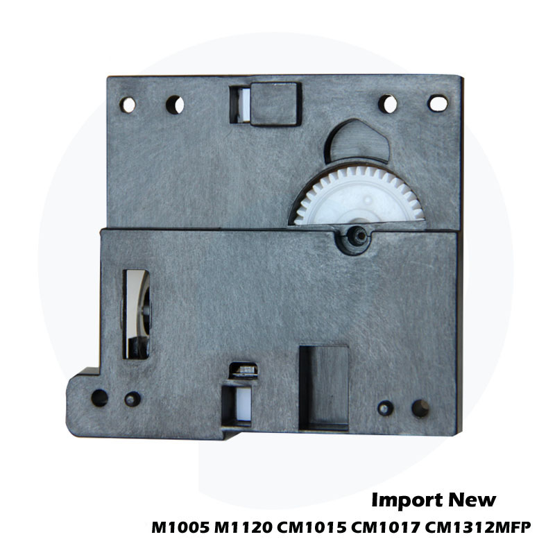 New For <font><b>HP</b></font> LaserJet M1005 <font><b>M1120</b></font> CM1015 CM1017 CM1312 <font><b>Scanner</b></font> Head Bracket Motor Gear CB376-67901 CB376-67901 T-610361-02 image