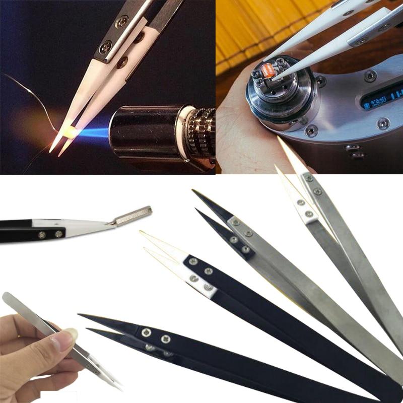 High Temperature Resistant Ceramic Tweezers Anticorrosion Tool High Quality