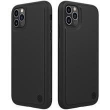 Dla iPhone 11 pro max skrzynki pokrywa NILLKIN magiczna skrzynka pro matowa twarda miękka tylna pokrywa telefon komórkowy czarna skorupa dla iPhone 11 pro