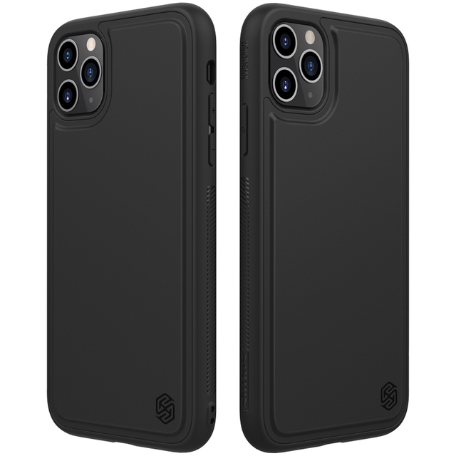 For iPhone 11 pro max Case Cover NILLKIN magic case pro matte hard soft back cover Mobile phone black shell For iPhone 11 pro