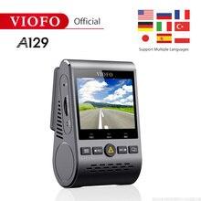 Viofo A129 фронтальная камера полоса 5 ГГц Wi-Fi Full HD Автомобильный видеорегистратор 1080P 30fps IMX291 Starvis сенсор с gps