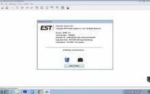 Elektronik servis aracı EST 2021A tam motor desteği + CATET 2021B ve EST 2020C 2 Keygen ile fabrika geçiş