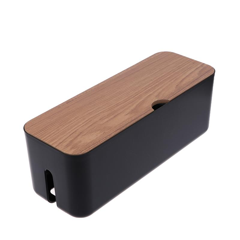 Creative Power Cord Storage Box Power Strip Data Headset Finishing Wire Organizer Cable Management Wire Arranging Case