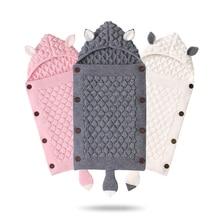 цена на Newborn Baby Winter Warm Sleeping Bags Envelop Design Newborn Baby Sleeping Bag Blanket Sleep Sack Stroller Wrap Toddler Blanket
