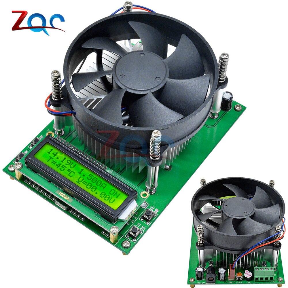 150W Constant Current Electronic Load 60V 10A Battery Tester Discharge Capacity Tester Meter 12V 24V 48V