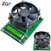 Medidor eletrônico atual constante 12 v 24 v 48 v do verificador da capacidade da descarga da carga 60 v 10a da bateria de 150 w