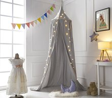 Hanging Princess Bed Canopy Mosquito Net Dome Dream Curtain Tent Baby Crib Round Hung Canopy Tent Bedding Crib Room Decor D20 недорого