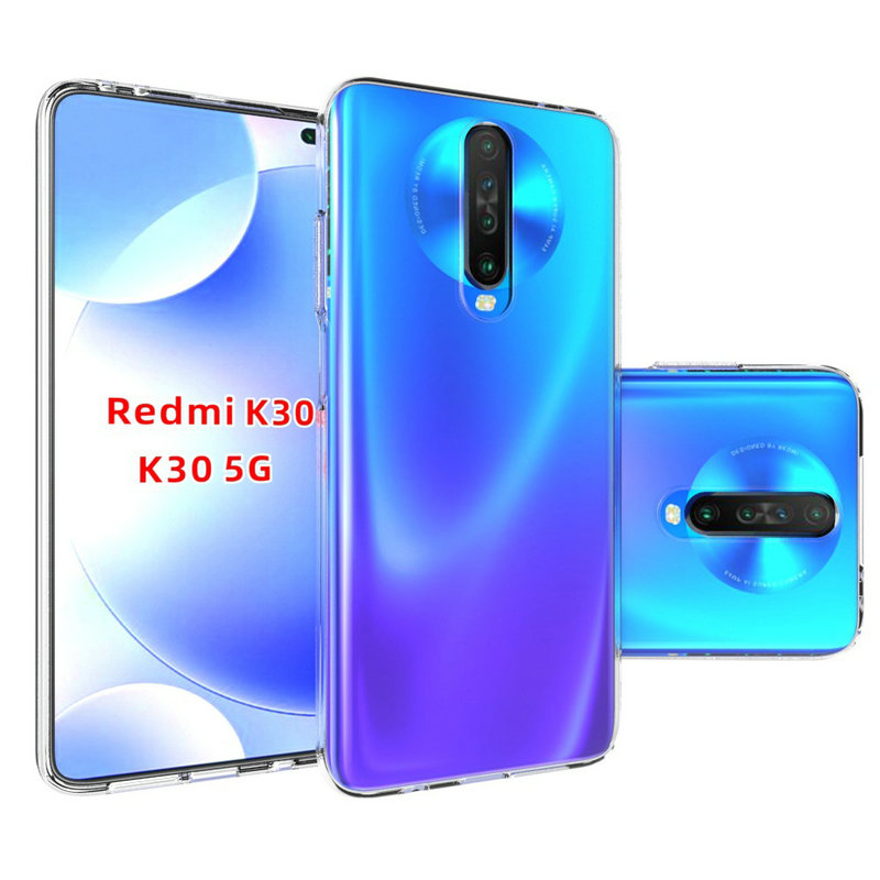 Transparent Silicon Case for <font><b>Xiaomi</b></font> <font><b>Redmi</b></font> <font><b>K30</b></font> 5G for <font><b>Xiaomi</b></font> Mi 9T Pro 6GB 64GB 8GB 128GB <font><b>256GB</b></font> Nature soft Phone cover Cases> image