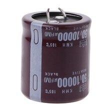 Condensateur électrolytique de puissance 50V, 10000 °C, 105 uF, enfichable, nouveau