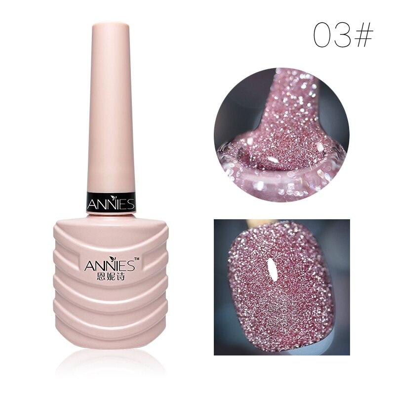 10ml Glitter Nail Gel Polish Nail Art Decoration Crystal Diamond Powder Gel Silver Nail Polish Soak Off UV Gel Polish TSLM2 16