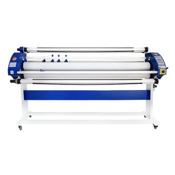 Maszyna do laminowania folii Fayon roll to roll maszyna do laminowania niezawodna jakość krzemu wałka 1600mm urządzenie do laminowania tanie i dobre opinie FY-1600DA Walcowania laminator 1600mm Film Laminator 30mm 60 degree centigrade Single(top) 10-15 min Roller Lift up Adjustable 0-10m min