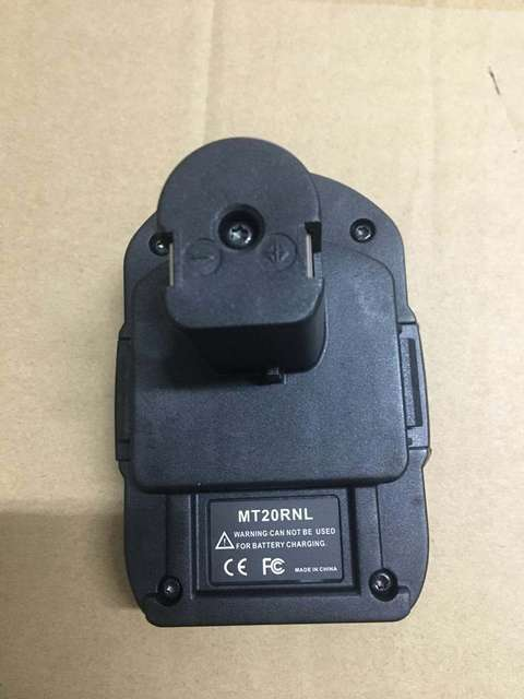 MT20RNL Batteries Adapter for For Makita BL1840 Convert to Ryobi 18V With USB Charger Port Charger for For Makita BL1840