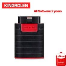 Thinkcar Thinkdiag برامج التكوين الكامل 2 سنوات تحديث مجاني 15 خدمة بلوتوث الروبوت IOS OBD2 ماسحة التشخيص أداة