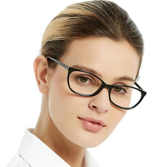 Spedizione gratuita moda acetato occhiali fatti a mano prescrizione lente medica occhiali da vista donna e uomo telaio ZOU