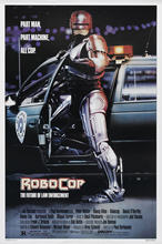 Robocop Movie Poster (1987) di Seta Poster da Parete Decorativa Pittura 24X36 Pollici(China)