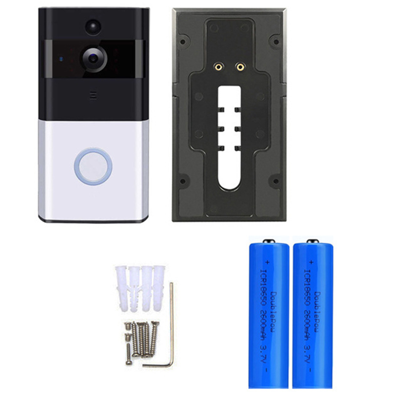 Video Doorbell With HD Video, Motion Activated Alerts, Easy Installation